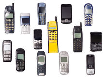 Telefoni mobili Immagine Stock