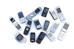 Telefoni mobili Fotografie Stock