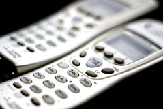 Telefoni senza cordone Fotografia Stock