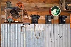 Telefoni vecchi Fotografia Stock