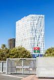 Telefonica总部在巴塞罗那 库存图片