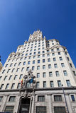 Telefonica Building in Madrid Stock Image