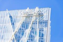 Telefonica Headquarters in Barcelona Royalty Free Stock Photo