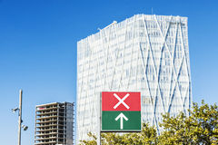 Telefonica Headquarters in Barcelona Royalty Free Stock Photo