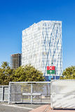 Telefonica Headquarters in Barcelona Stock Images