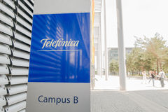 Telefonica munich Stock Photo