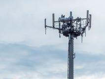 telefoniczna antena Obraz Royalty Free