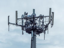 telefoniczna antena fotografia royalty free