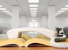 Telefoniczna książka telefoniczna Zdjęcie Stock