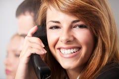 Telefonieren Stockbild