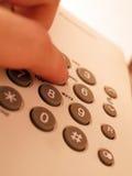Telefonieren Stockfoto