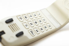 Telefonieren Sie Nahaufnahme Lizenzfreies Stockbild