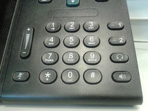 Telefonknöpfe Stockbild
