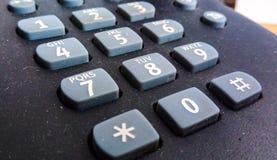 telefonknapp Arkivbilder