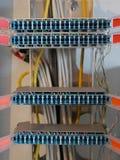 Telefonkommunikations-Schaltanlagenkasten Stockfotografie