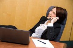 Telefonkonferenz Lizenzfreies Stockbild