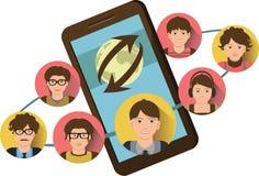 Telefonkonferenz Lizenzfreies Stockfoto