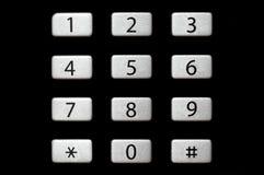 Telefonnummern lizenzfreies stockbild