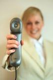 Telefono 1 dell'ufficio Fotografia Stock Libera da Diritti