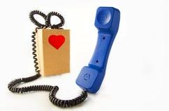Telefono fotografie stock