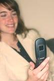 Telefono 3 delle cellule della macchina fotografica immagine stock