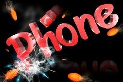 Telefono 3D Fotografia Stock Libera da Diritti
