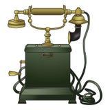 Telefono antiquato Fotografia Stock Libera da Diritti