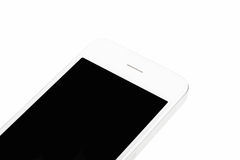 Telefono astuto bianco Fotografia Stock