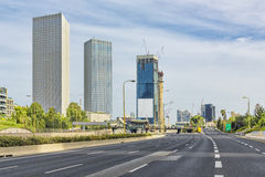 Telefono Aviv Cityscape In Daylight fotografie stock