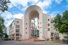 Telefono Aviv Performing Arts Center, o o Golda Center per le arti dello spettacolo fotografie stock