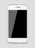 Telefono cellulare astratto di progettazione. Illustrazione di vettore Fotografie Stock