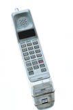 Telefono cellulare d'annata isolato Fotografie Stock