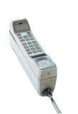 Telefono cellulare d'annata isolato Fotografia Stock Libera da Diritti