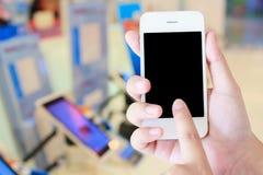 Telefono cellulare in deposito Fotografia Stock Libera da Diritti