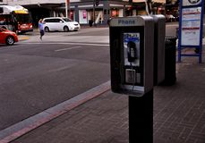 Telefono cellulare a San Diego fotografia stock libera da diritti