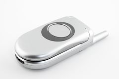 Telefono chiuso delle cellule della copertura superiore Fotografie Stock Libere da Diritti