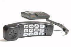 Telefono collegato Fotografia Stock
