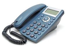 Telefono con quadro a cristallo liquido Fotografia Stock