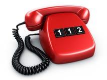 Telefono con un tasto Fotografia Stock Libera da Diritti