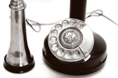 Telefono del classico del primo piano fotografia stock