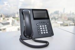Telefono del IP Fotografia Stock
