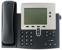 Telefono del IP dell'ufficio fotografia stock