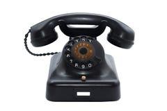 Telefono dell'annata isolato Fotografie Stock