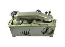 Telefono dell'esercito Fotografia Stock