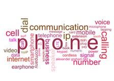 Telefono dell'illustrazione immagini stock libere da diritti