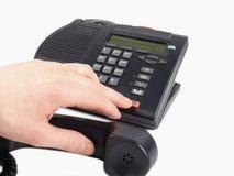 Telefono dell'ufficio Immagini Stock Libere da Diritti