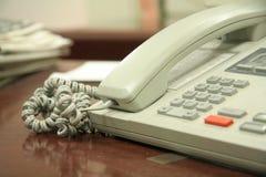 Telefono dell'ufficio Fotografia Stock