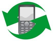 Telefono della freccia Fotografie Stock