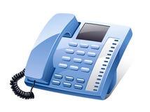 Telefono della linea terrestre Immagine Stock Libera da Diritti