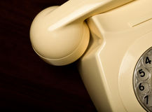Telefono della manopola rotativa Fotografia Stock
